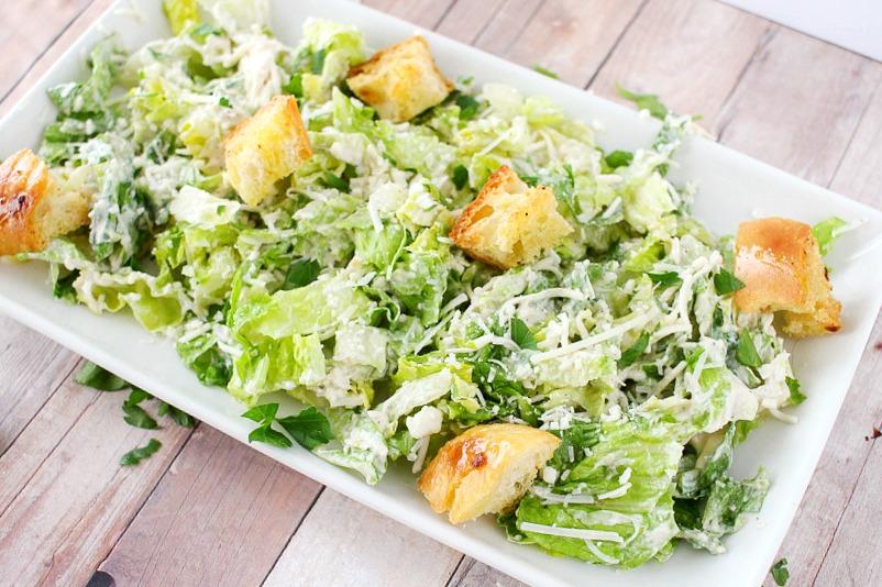 caesar salad and dressing tahoe cafe express deli